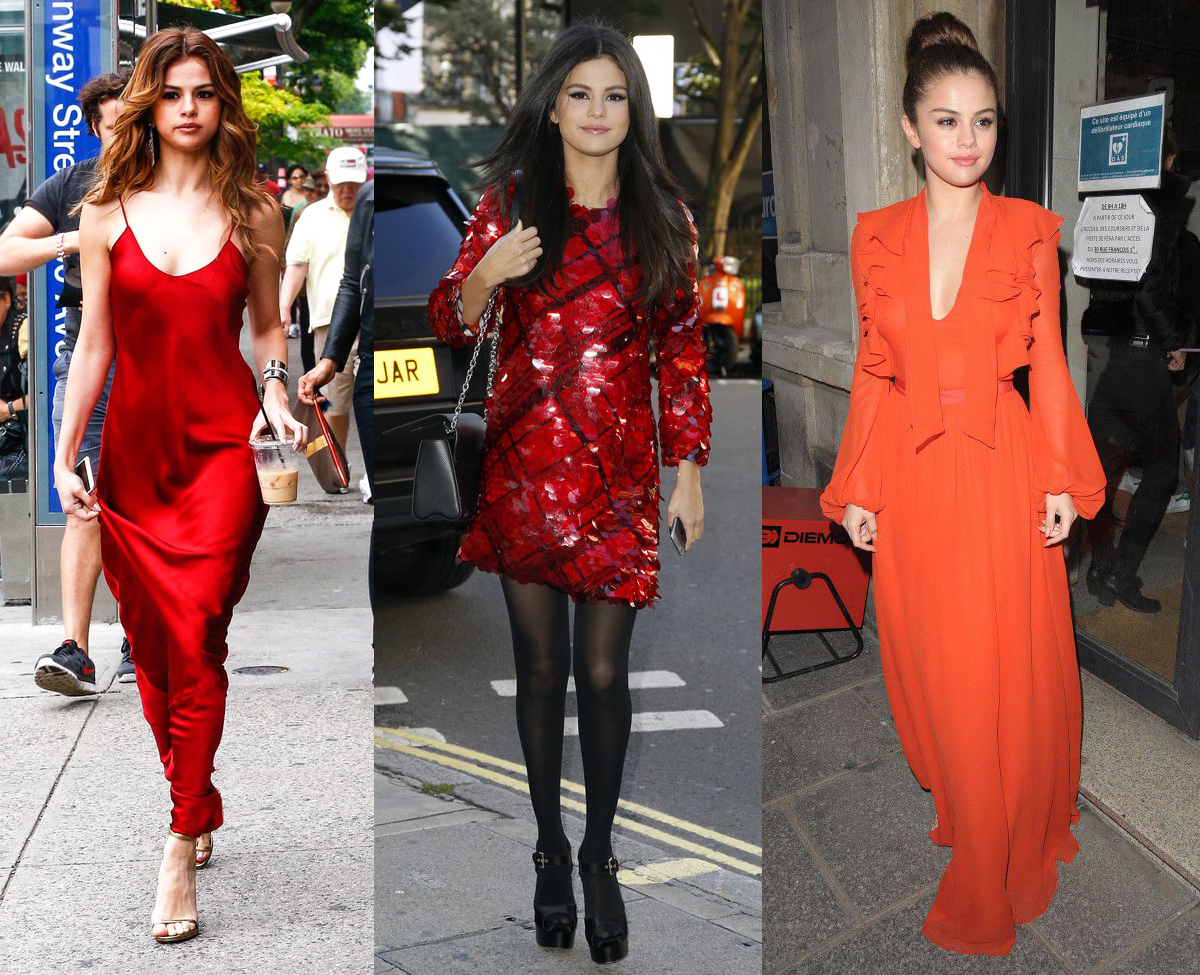 0657cb3defb Selena Gomez Totally On-Point Rocking Looking Dresses